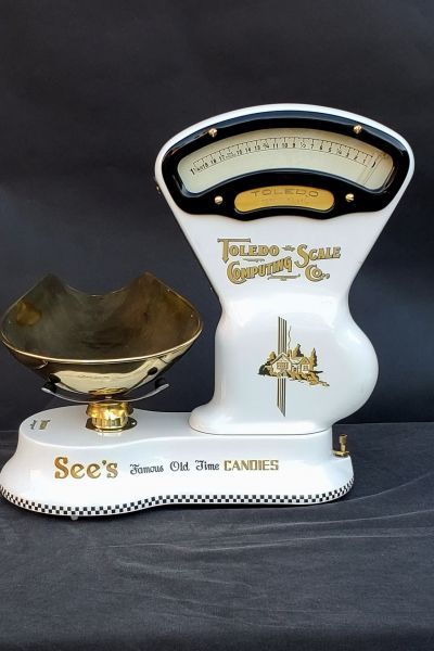 Toledo Candy Scale $1200. See's Motif